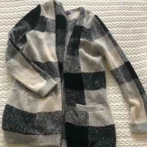 Splendid Plaid Sweater